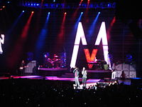 Maroon 5 in Madison Square Garden, New York City in 2007