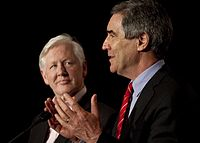 Rae and Ignatieff in 2011