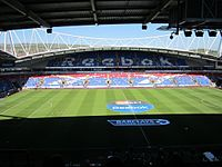 The University of Bolton Stadium has been Bolton Wanderers' home since 1997