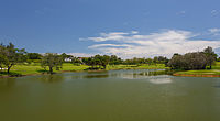 The panorama of Sabah Golf & Country Club.