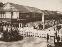 The North Borneo War Monument was erected in Jesselton in 1923 to remember those fallen British soldiers during the World War I.