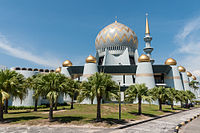The Sabah State Mosque, another place of worship sights in the city.