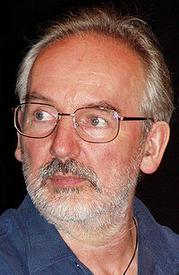 Alan Lee, a Tolkien illustrator who assisted in the visual design, at Worldcon 2005 in Glasgow.