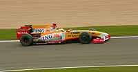 Alonso finished seventh in Germany
