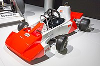 The first go-kart driven by Alonso after his older sister did not want to drive it