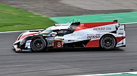Alonso driving in the 2018 6 Hours of Silverstone.