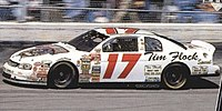 Waltrip's #17 Tim Flock Special Chevorlet Monte Carlo, his final owner-driver race in Darlington (1998)