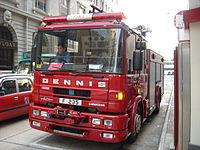 Dennis Sabre fire engine