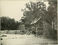 Quarles Mill, where Grant and Meade placed their headquarters