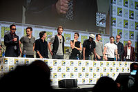 The cast of Avengers: Age of Ultron at the 2014 San Diego Comic-Con