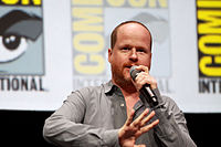 Whedon promoting the film at the 2013 San Diego Comic-Con