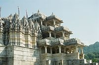 The renowned Jain Temple at nearby Ranakpur