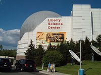 Liberty Science Center in Liberty State Park, Jersey City