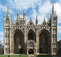 Peterborough Cathedral (1118–1375), the Early English Gothic west front