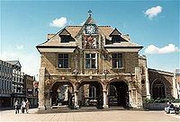 The Guildhall or Butter Cross (1669–1671), Cathedral Square, Peterborough