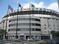 The post-renovation exterior of the stadium, as it appeared in 2006.