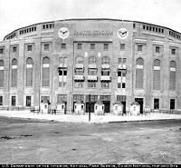 Main entrance during the 1920s