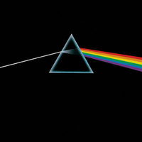 The iconic artwork for The Dark Side of the Moon was designed by Hipgnosis and George Hardie.