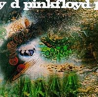The psychedelic artwork for A Saucerful of Secrets was the first of many Pink Floyd covers designed by Hipgnosis