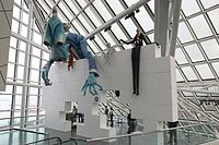 Pink Floyd's The Wall exhibit at the Rock and Roll Hall of Fame