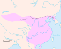 Western Han dynasty frontier walls and the extent of its territory