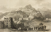 The Great Wall as depicted in Thomas Allom's 1845 China, in a series of views