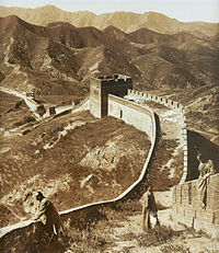 The Great Wall in 1907