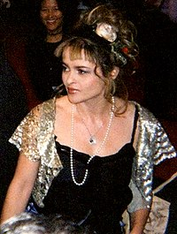 Bonham Carter at the 2005 Toronto International Film Festival, promoting Wallace & Gromit: The Curse of the Were-Rabbit