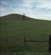 The hill where General Stoneman positioned his army