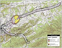 Map of Marion Battlefield core and study areas by the American Battlefield Protection Program.