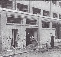 Goodison Park was bombed in September 1940