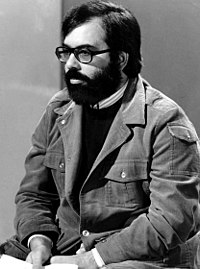 Francis Ford Coppola (pictured in 1976) convinced Waits to leave New York and return to Los Angeles to score his film One from the Heart
