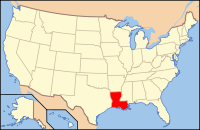 Index of Louisiana-related articles