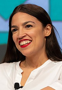 Ocasio-Cortez at the 2019 South by Southwest