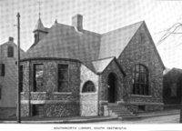 Southworth Library, South Dartmouth, 1899