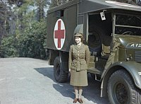 Queen Elizabeth II in the Auxiliary Territorial Service, April 1945