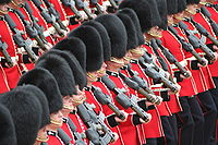 Welsh Guards Trooping the Colour