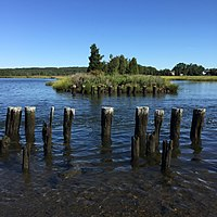Broad Cove, an inlet of the Taunton River, is located at the northern end of Somerset.