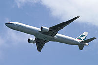 Cathay Pacific introduced the stretched -300 variant on May 27, 1998