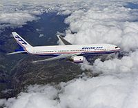 The 777 made its maiden flight on June 12, 1994.