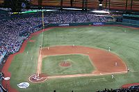Tropicana Field, home of the Tampa Bay Rays