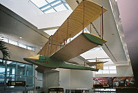 Replica of the airplane flown by Tony Jannus at St. Petersburg–Clearwater International Airport