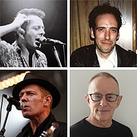 List of the Clash band members
