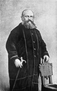 """The French esotericist Éliphas Lévi popularised the term """"occultism"""" in the 1850s. His reinterpretation of traditional esoteric ideas has led to him being called the origin of """"the occultist current properly so-called""""."""