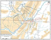 Chickamauga Campaign, movements 15–30 August 1863