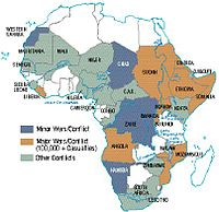 Africa's wars and conflicts, 1980–1996