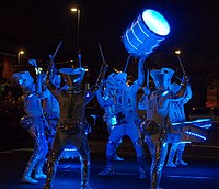 Light Night: One of the UK's largest annual arts and light festivals