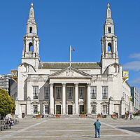Leeds Civic Hall is the seat of local government.