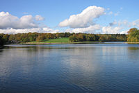 Waterloo Lake in Roundhay Park, one of the largest urban parks in Europe