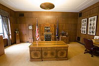 The ceremonial Governor's Office in the Oregon State Capitol